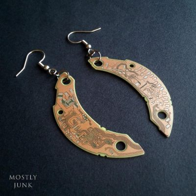 Mostly Junk jewelry earrings